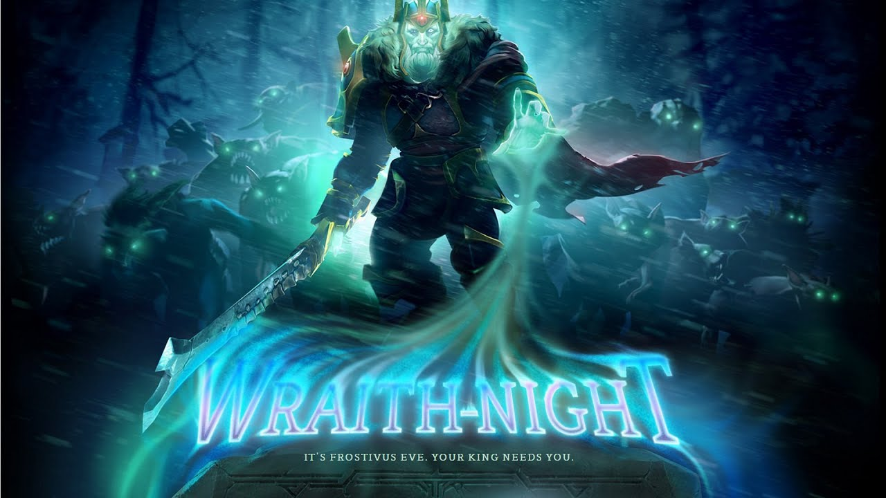3d Hd Wallpapers Lion Dota 2 Wraith Night Gameplay Youtube