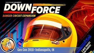 Downforce: Danger Circuit — game overview at Gen Con 2018