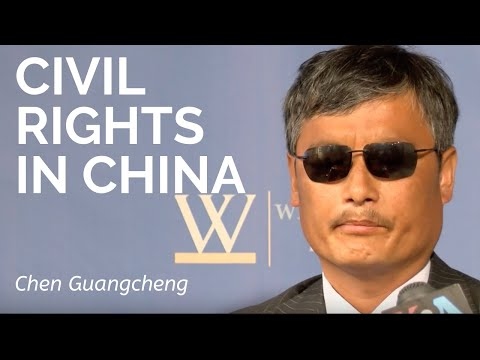 Chen Guangcheng: Freedom in China