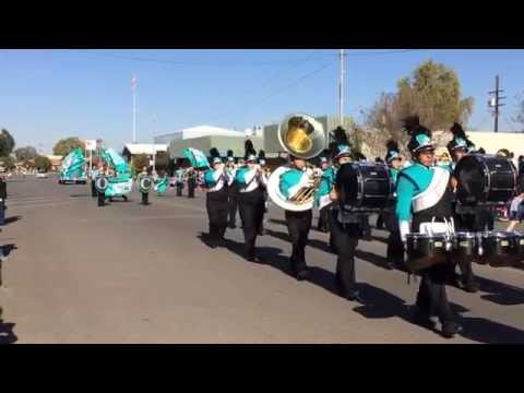 Orange Cove High School Marching Band Parade 2015