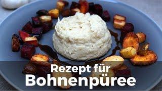 Rezept für Bohnenpüree / Bohnenmus