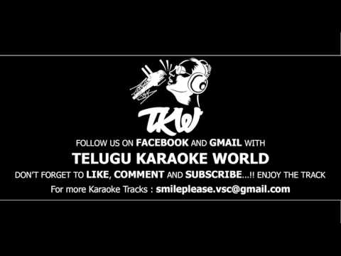 Nuvve Nuvve Antu Naa Pranam Karaoke    Kalisundam Raa    Telugu Karaoke World   