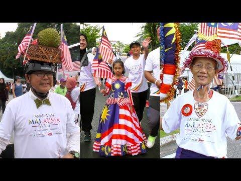 Zany costumes add colour to Anak-Anak Malaysia Walk