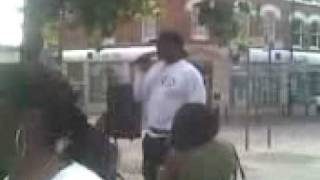 Doctah X Speaks in Harlesden 2008.Part 1 Thumbnail