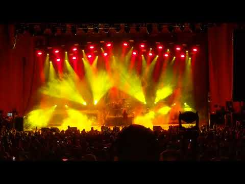 Slayer live in Cuyahoga falls Ohio on  farewell tour 6/7/18 at blossom music center