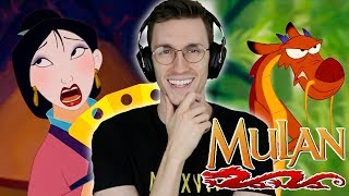 "Grown Man Watches ""MULAN"" for First Time!!"