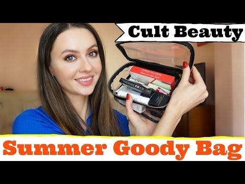 БЬЮТИ КОСМЕТИЧКА🌟CULT BEAUTY Goody bag Summer 🌞 (оч длинное видео)