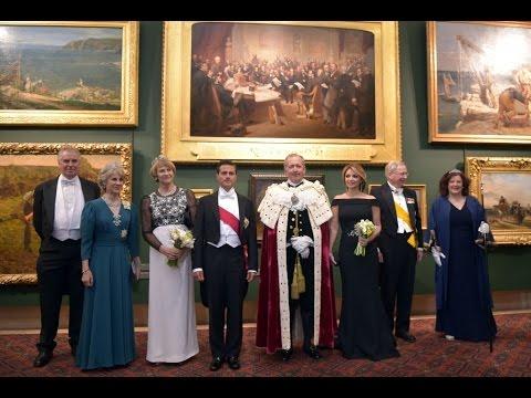 Cena de gala que ofrece el Lord Mayor y el Distrito Financiero de Londres