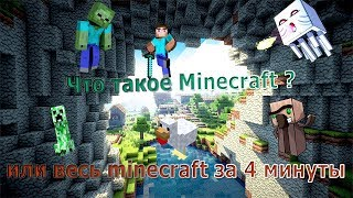 Что такое Minecraft? (Или весь Minecraft в одном видео)