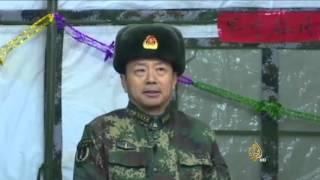 احتفالات السنة القمرية بالصين يغيب عنها العسكر