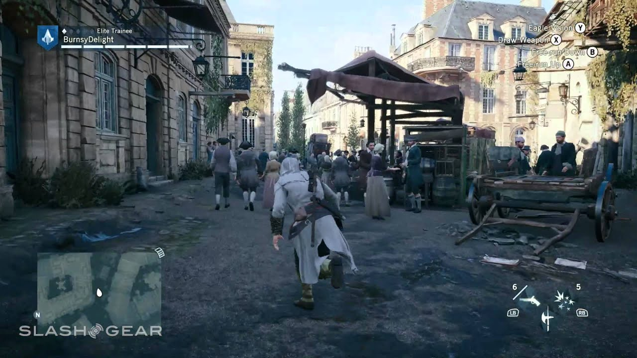 Assassin S Creed Unity Xbox One Gameplay Versailles Youtube