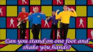 Wiggles Can you point your fingers and do the twist