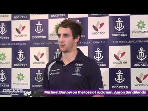 MEDIA CONFERENCE: Michael Barlow 12.6.12