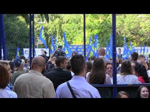 Смотреть фото Последняя агитация накануне выборов мэра Москвы. Оппозиция в московских дворах новости россия москва