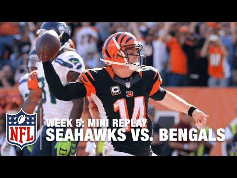 Seahawks vs. Bengals (Week 5) | Russell Wilson vs. Andy Dalton Mini Replay | NFL Films