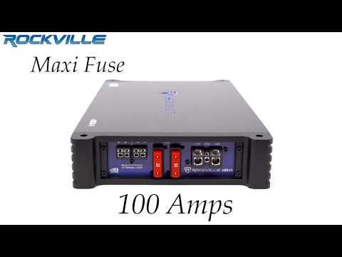 Rockville dB14 4000 Watt/2000w RMS Mono Class D 2 Ohm Car Audio Amplifier