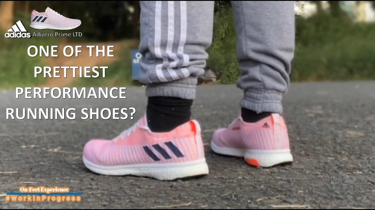 Adidas Adizero Prime LTD On-Feet