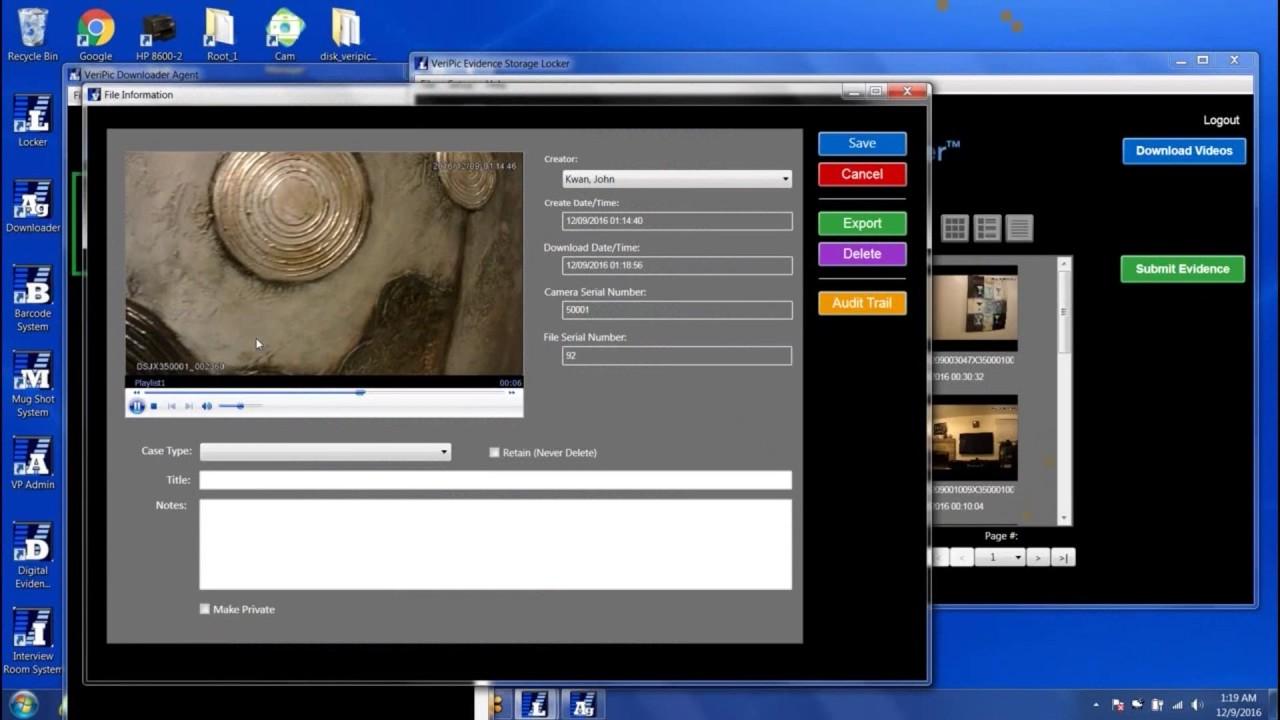 Veripic Evidence Storage Locker Instructions Youtube