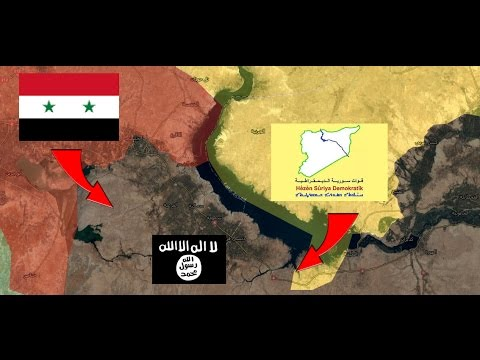Colapso total de Isis en el norte. Guerra siria 23/03/2017