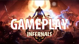 Infernals - Heroes of Hell Gameplay (By Polska) iOS Video HD