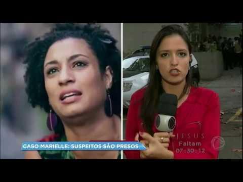 Polícia prende suspeitos de envolvimento no assassinato de Marielle Franco