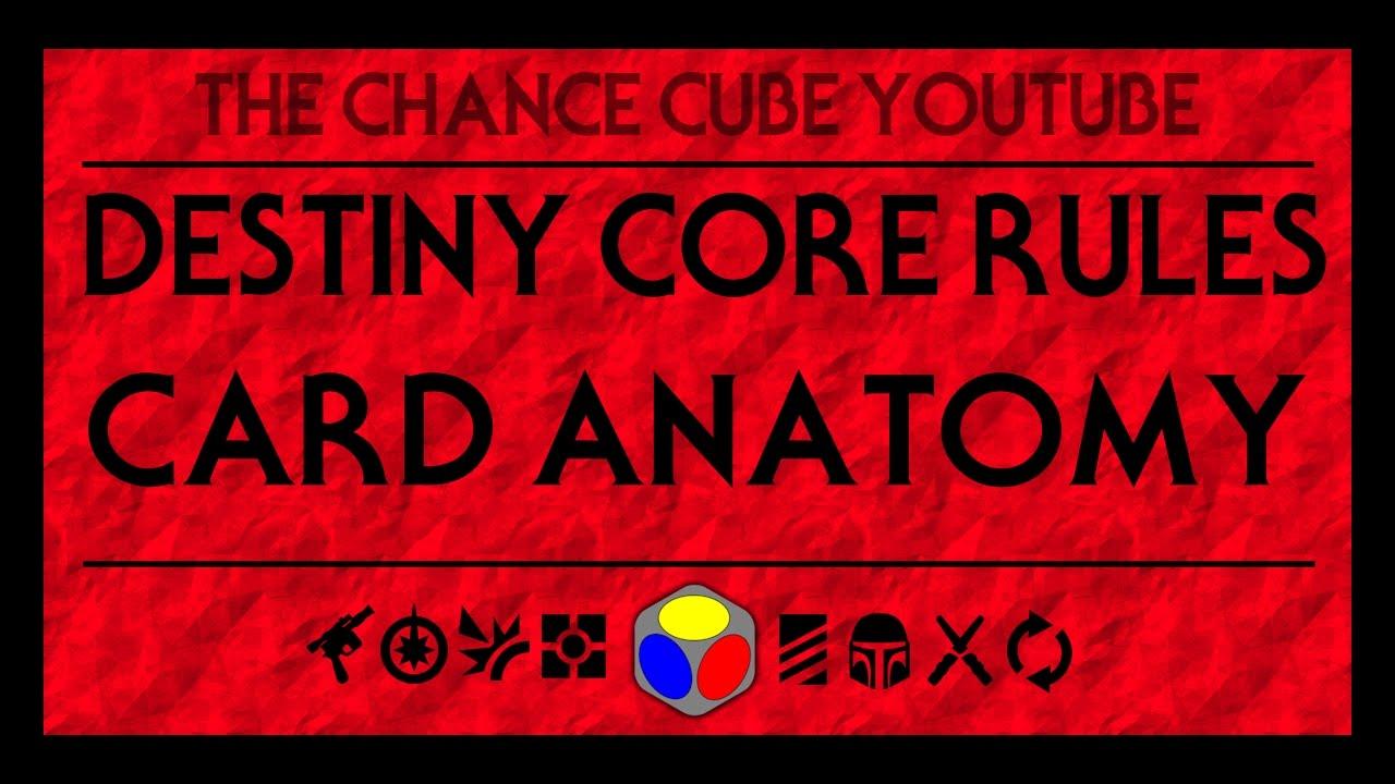 Star Wars: Destiny - Card Anatomy (Core Rules) - YouTube