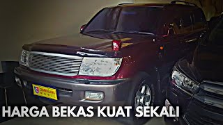 Toyota Land Cruiser VX100 VX-Limited Diesel JDM 2001 Tour Review Indonesia