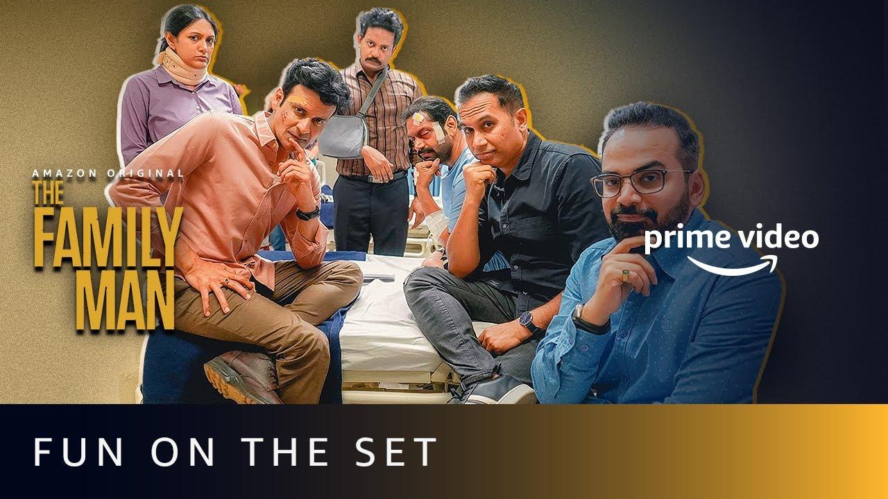 The Family Man Season 2 - Fun On The Set | Amazon Prime Video