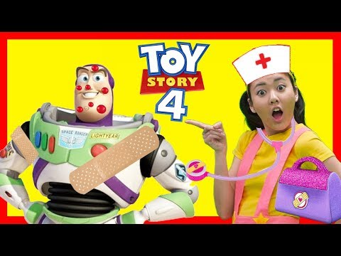 The Boo Boo Story with Ellie, Woody and Buzz from Toy Story 4
