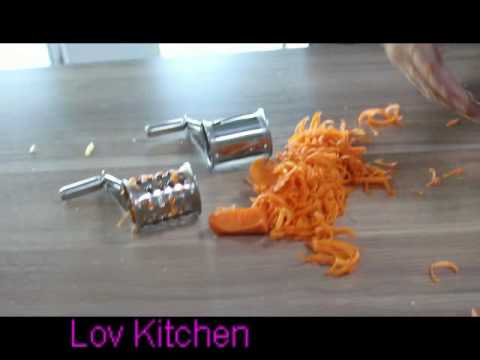 Rotary Cheese Grater - Lovkitchen Cheese Grater Rotary Review