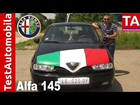 ALFA ROMEO 145 1.4 TwinSpark TEST