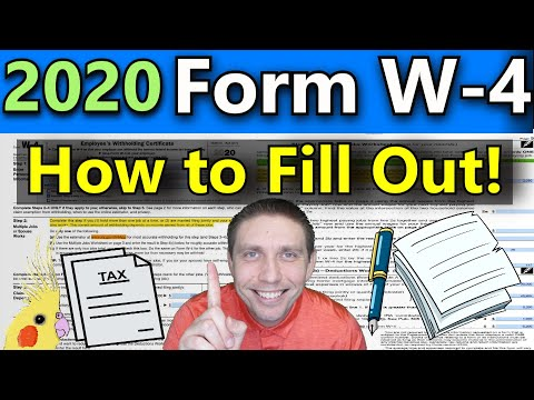 How to Fill Out the New 2020 W - 4 Form (VERY DETAILED Examples) (2020 W-4 Explained Step By Step)