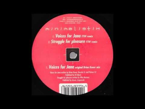 Minimalistix - Voices For Jana [original]