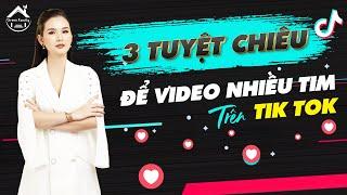 Tuyệt chiêu nhiều tim nhiều comment trên Tik tok/ Bí quyết chơi Tik tok/ CEO Phạm Hà