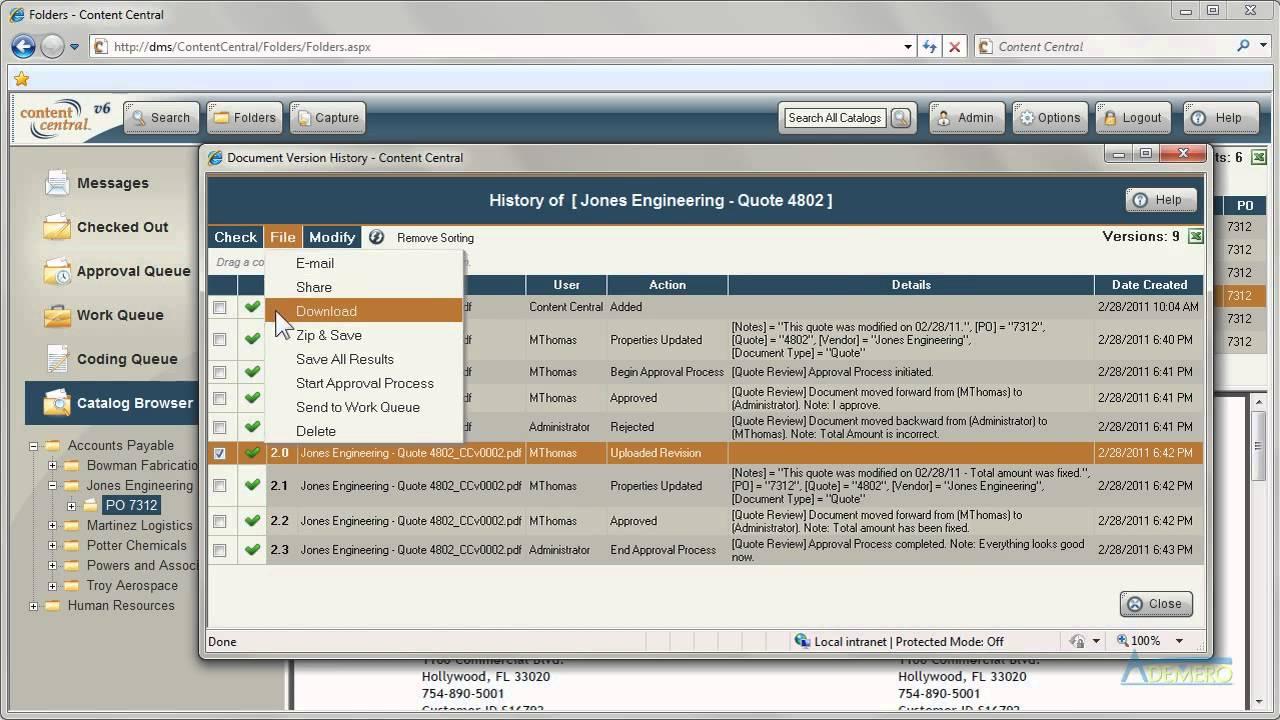 Document Management Software Version Control