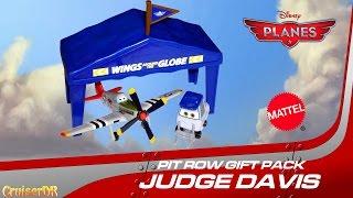 Mattel Disney planes//Judge//juge//Juez Davis avion HANGAR//Cadeau