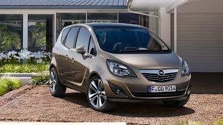 Opel Meriva II рестайлинг 2014 минивэн