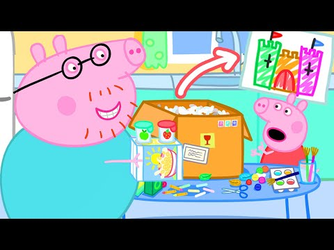 Peppa Pig Official Channel | Make A Giant Castle With Peppa Pig