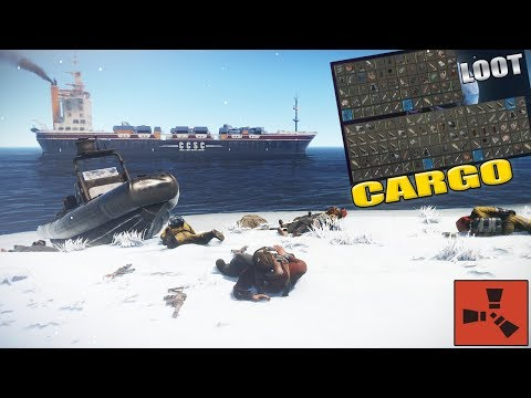 Rust - INSANE! CARGO COUNTER (Vanilla) thumbnail