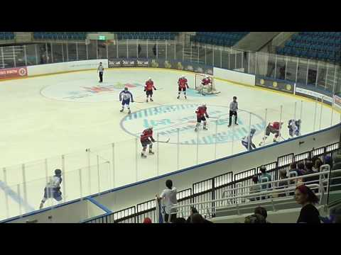 Maccabiah2017 Open IceHockey Place 3-4: Israel vs Russia Period 1