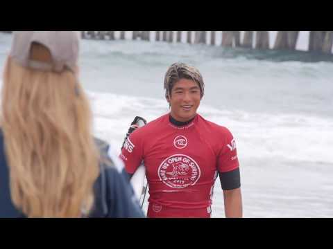 3連覇を狙う五十嵐カノアがR4進出!『Vans US Open Of Surfing2019』