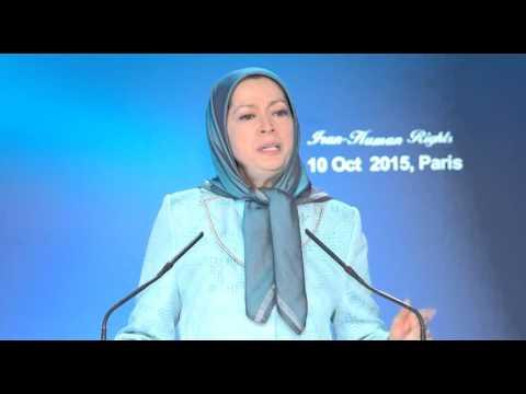 Discours de Maryam Rajavi à la journée mondiale contre la peine de mort - Paris