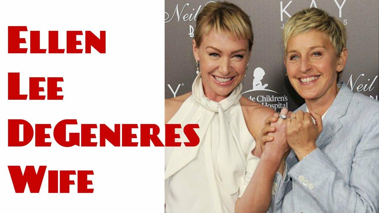 Ellen Lee DeGeneres Wife 2017 _ Ellen And Portia De Rossi