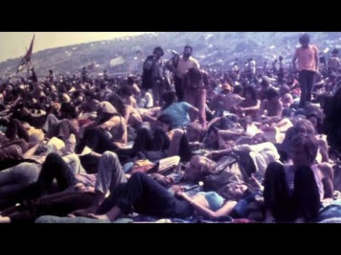 1970 Isle of Wight Music Festival Rare 8MM Footage