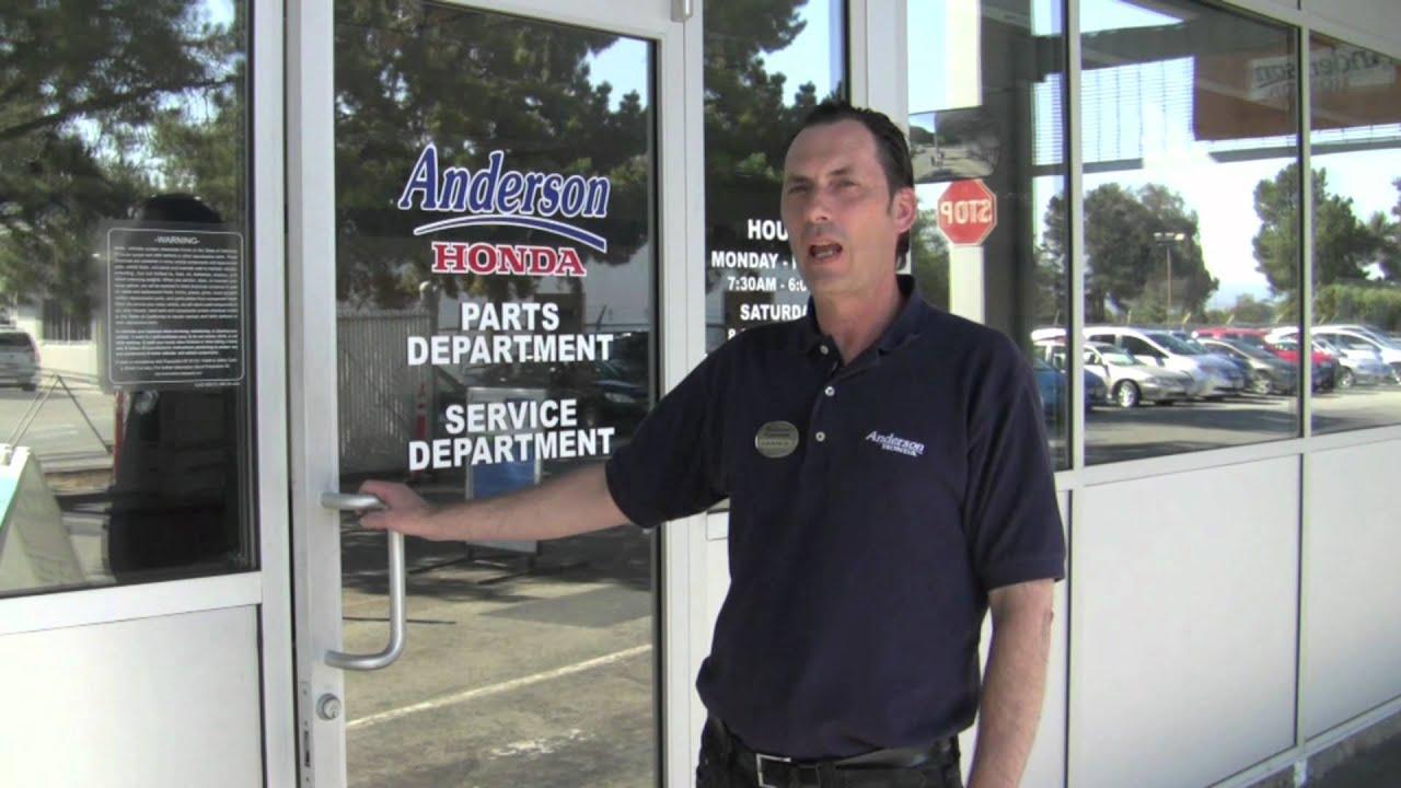 Lovely Anderson Honda, Palo Alto, CA   James Introduction