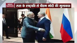 Breaking: PM Modi meets Russian President Vladimir Putin at SCO Summit