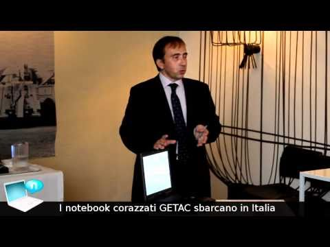 Rugged notebook GETAC in Italia