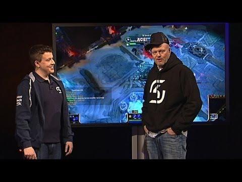 SK Gaming zockt mit Stefan Raab League of Legends - TV total