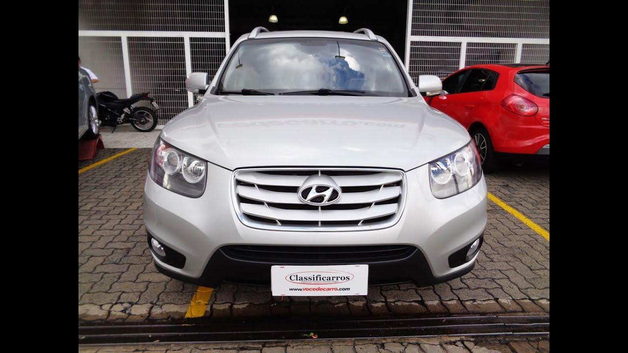 Hyundai Santa Fé V6 3.5 24v Automático   2012