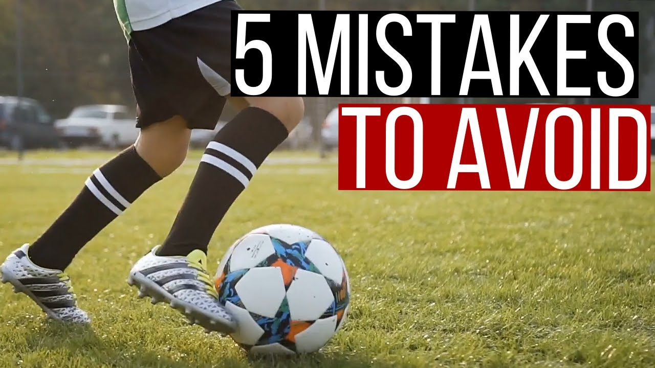 5 Soccer Mistakes To Avoid For Young Players